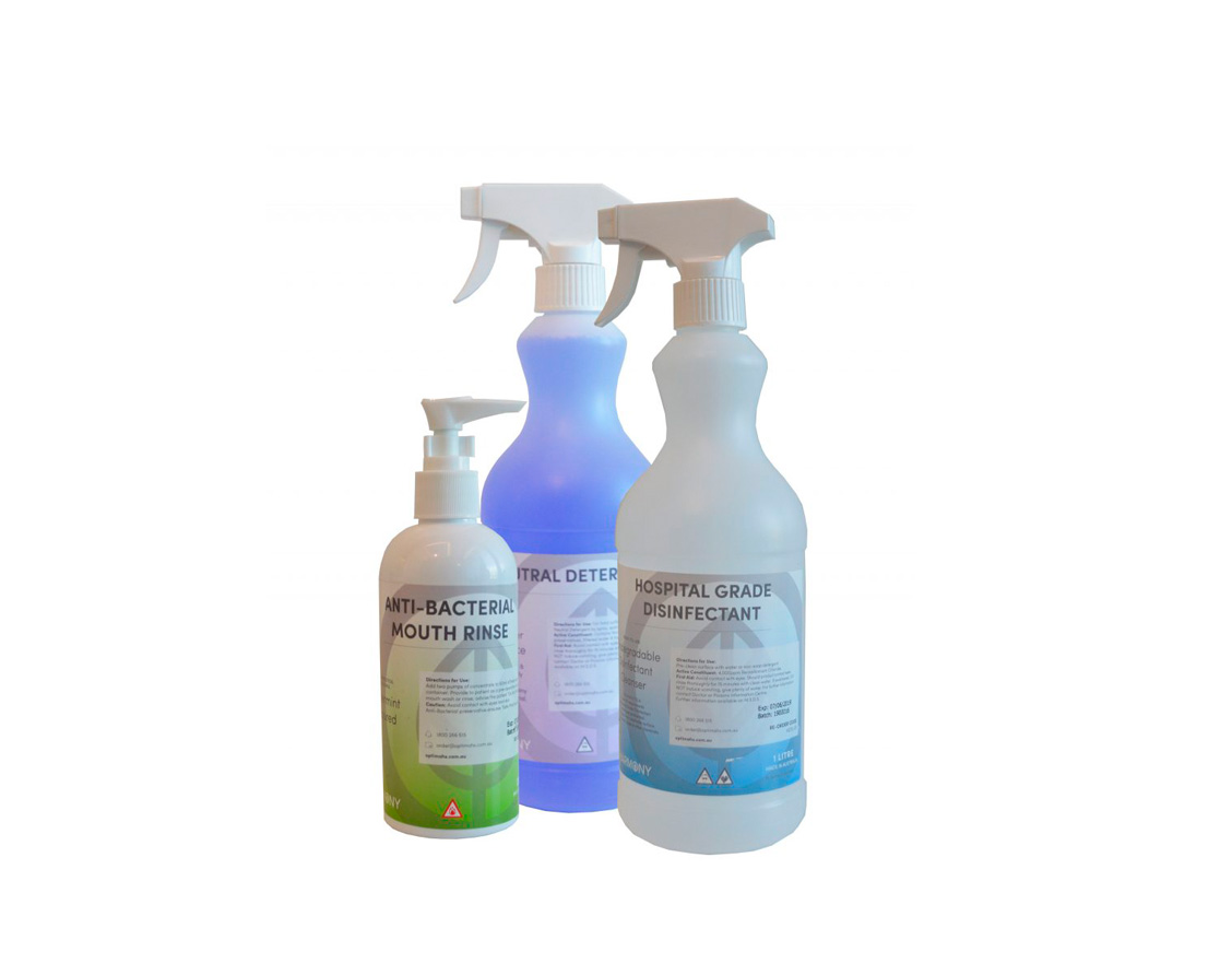 Disinfect with Harmony! Available NOW!