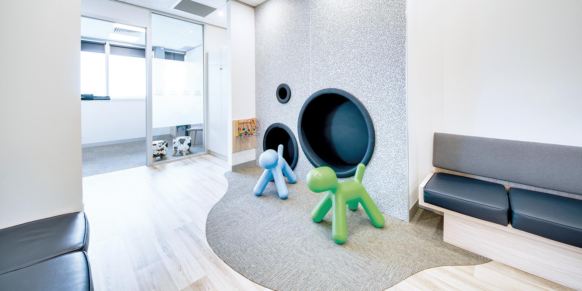 Dental Practice design waiting room