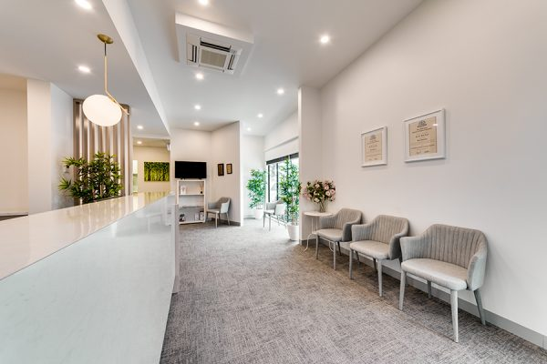 Dentist Waiting room: Central Dental Frankston