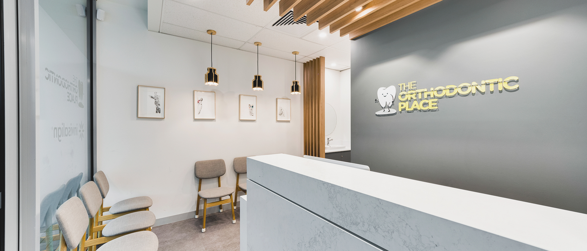 Dental Medical Reception Design