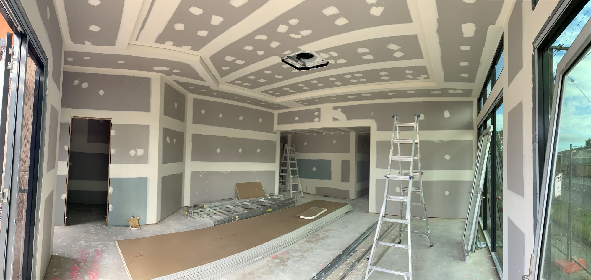 Project Update – Plastering Stage