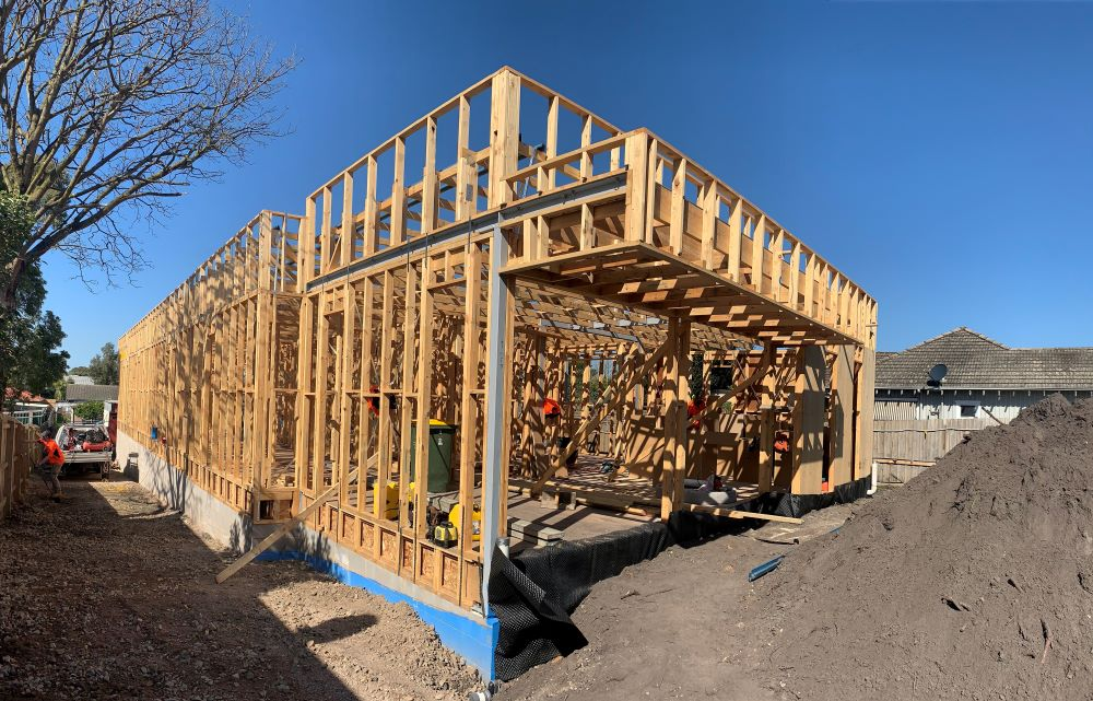 Project Update – Framing stage