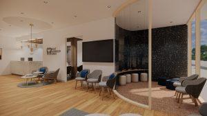 Dental Practice Waiting Room design
