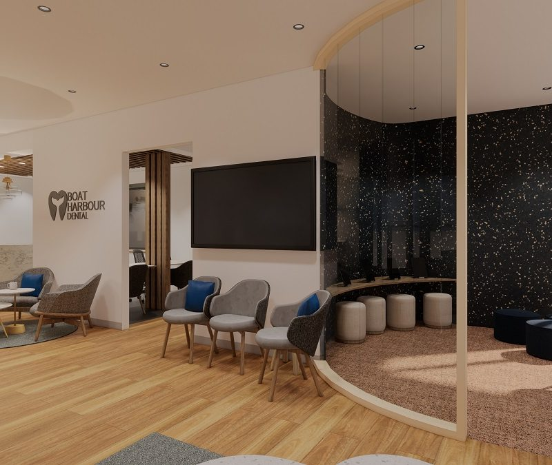 Dental Practice Waiting Room design
